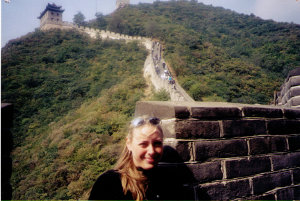 Great Wall, near Beijing, China - Fall 2001